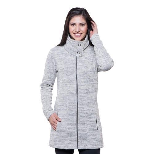 KUHL Women's Alska Long Jacket Ash