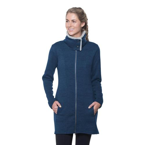 KUHL Women's Alska Long Jacket Harbor