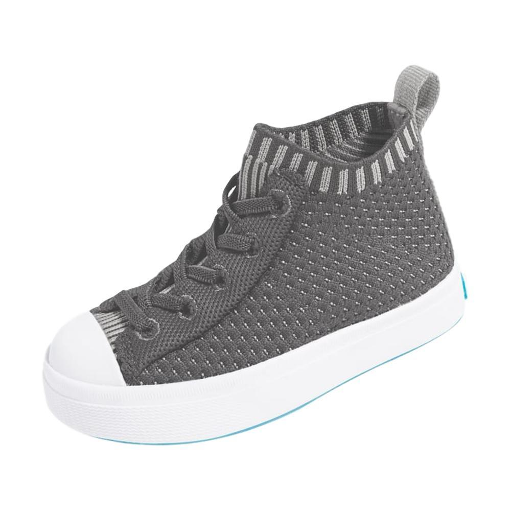 Native Kids Jefferson 2.0 High Liteknit Shoes DUBLINGREY