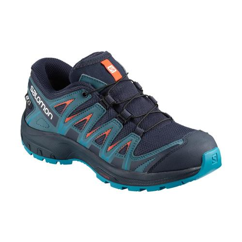 Salomon Kids XA PRO 3D CS WP J Shoes Navyblazr