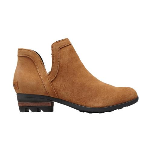 Sorel Women's Lolla Cut-Out Booties Camelbrown
