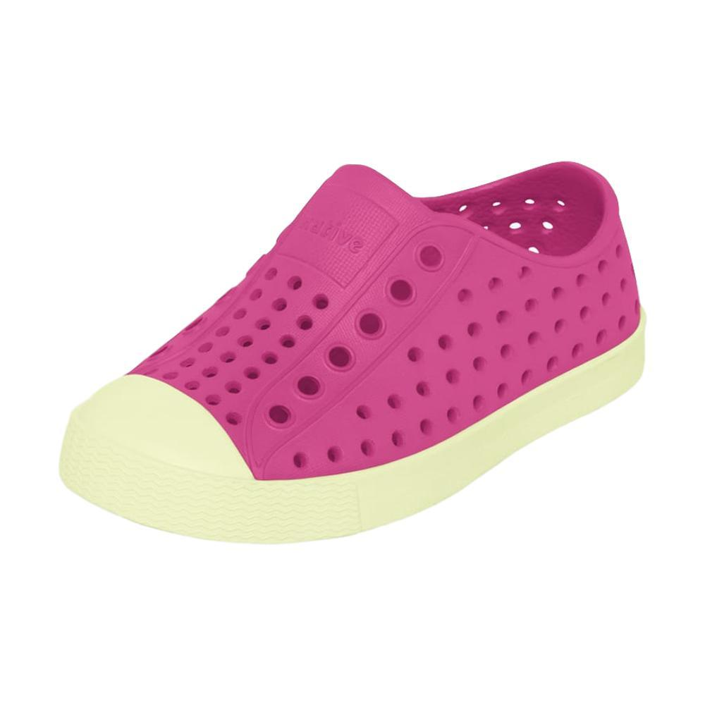Native Kids Jefferson Glow Shoes PINK/GLOW