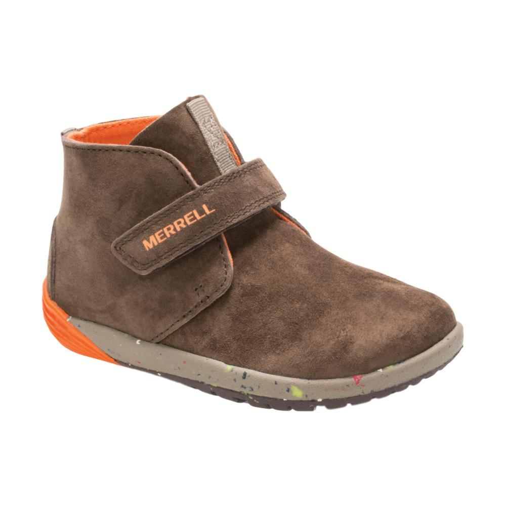 Merrell Little Kids Bare Steps Boots BRWN