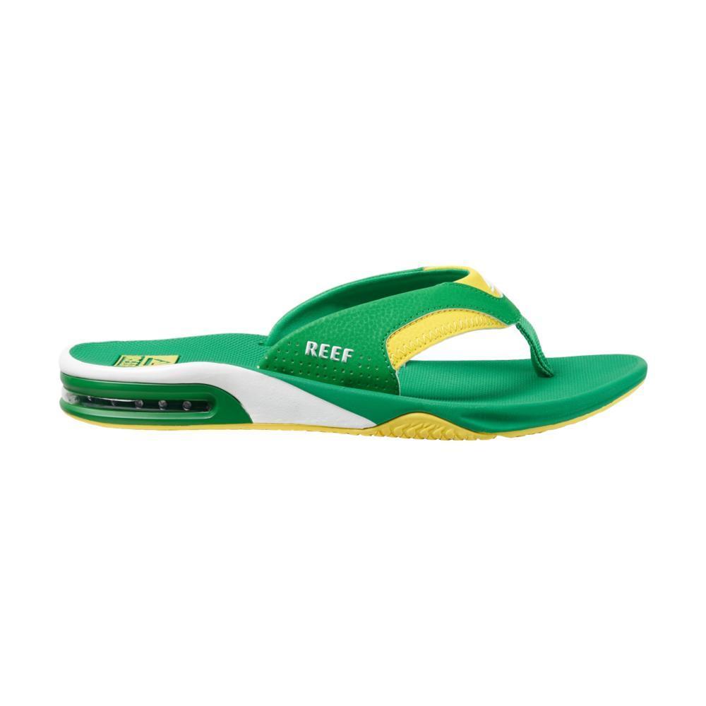 Reef Men's Fanning Sandals GRN.YEL_GYE