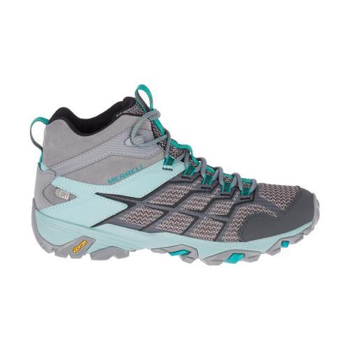 Merrell Women's Moab FST 2 Mid Waterproof Hiking Boots Frst.Aqufr