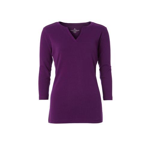 Royal Robbins Women's Kickback Split Henley Shirt Graperoyale