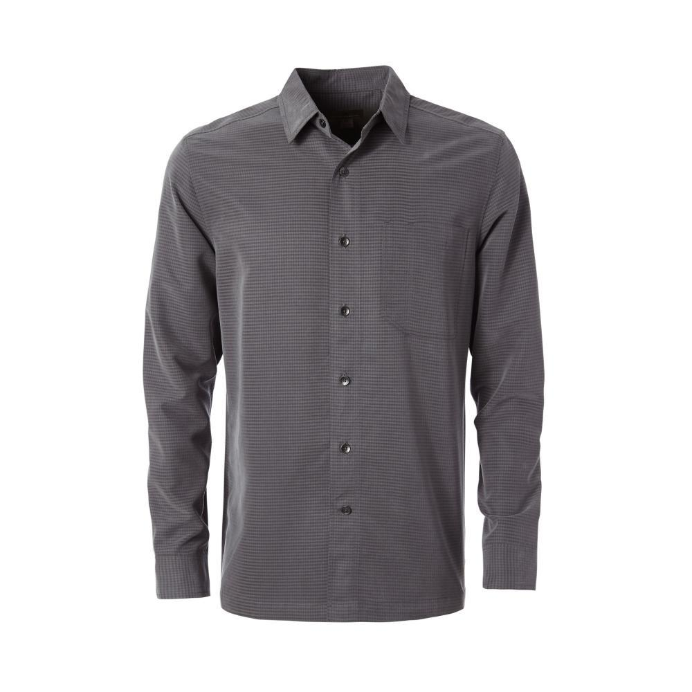 Royal Robbins Men's Desert Pucker Dry Long Sleeve Shirt ASPHALT