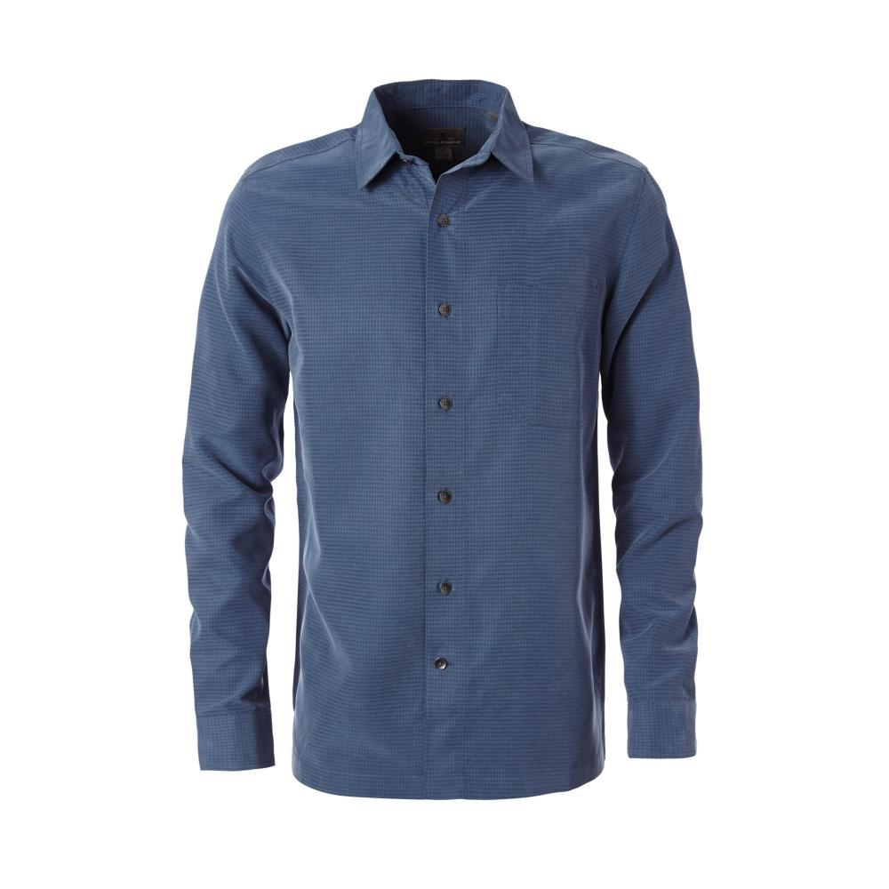 Royal Robbins Men's Desert Pucker Dry Long Sleeve Shirt COLLBLUE