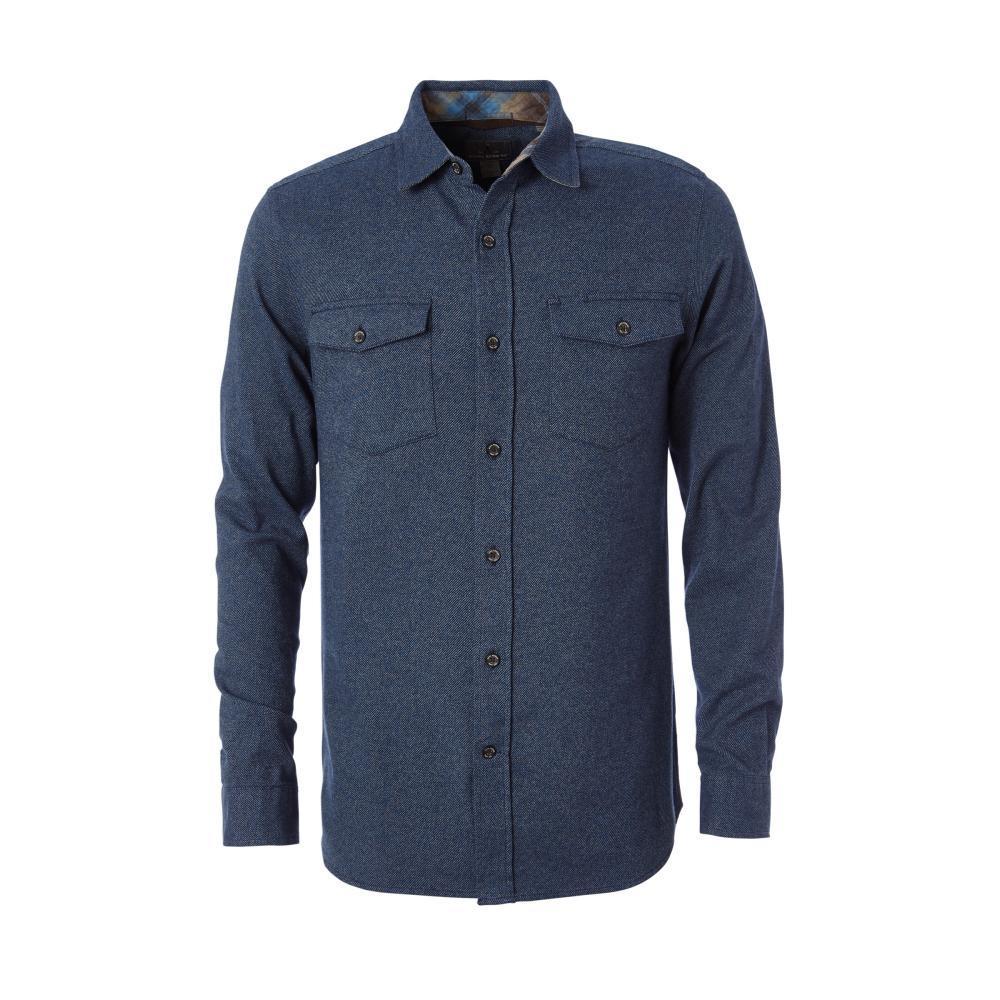 Royal Robbins Men's Bristol Twill Long Sleeve Shirt ECLIPSE