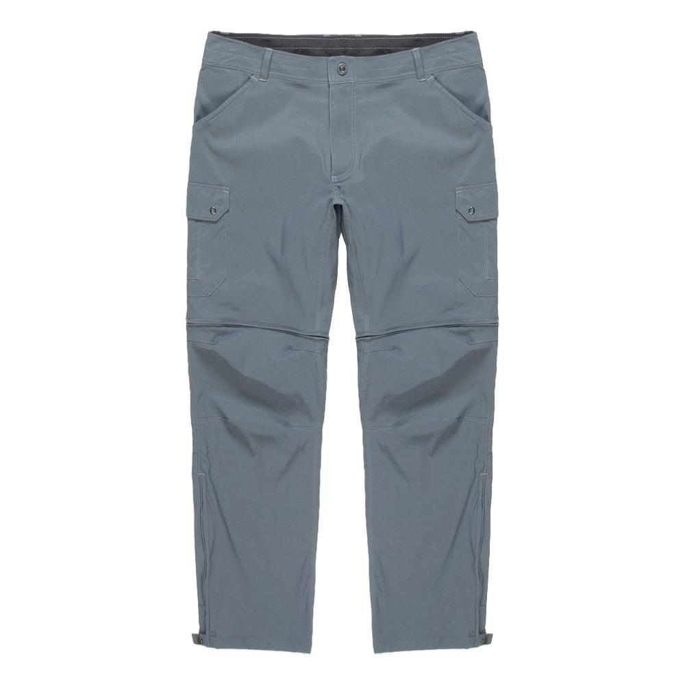 KUHL Men's Renegade Cargo Convertible Pants - 30in Inseam PEWTER