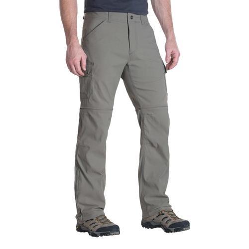 KUHL Men's Renegade Cargo Convertible Pants - 34in Inseam Khaki