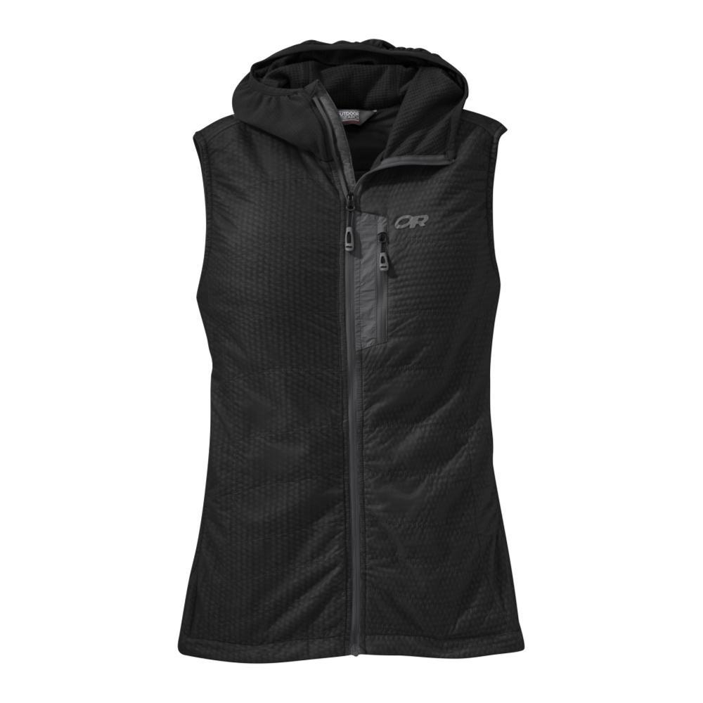 Outdoor Research Women's Deviator Hooded Vest BLACK_0001