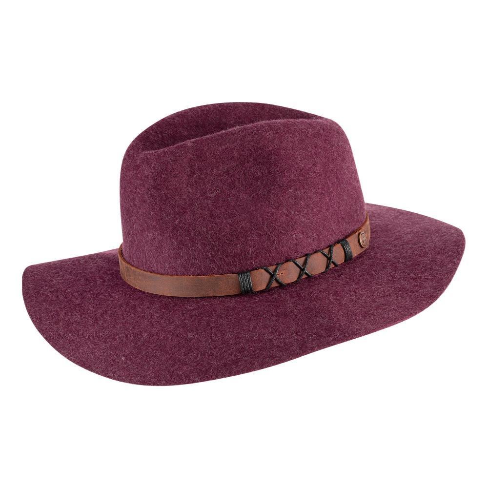Pistil Women's Soho Felt Hat PLUM_PLU