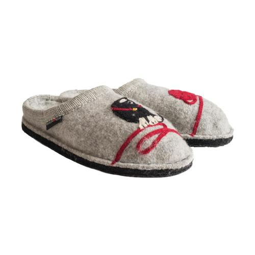 Haflinger Women's Kitty Slippers Stone