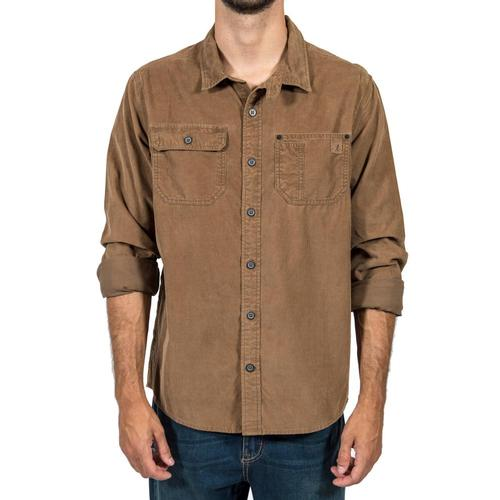 Gramicci Men's Indoor Mountain Man Long Sleeve Shirt Woodybrown