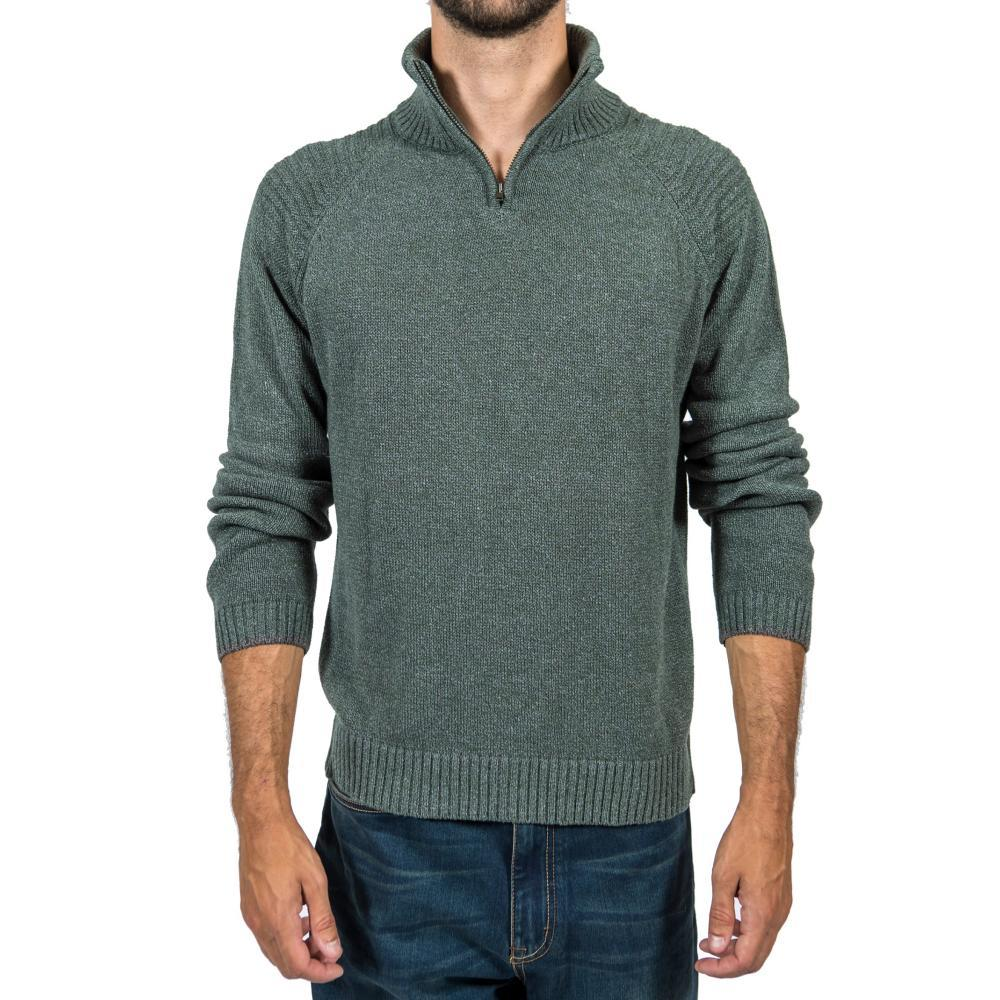 Gramicci Men's Capability ½ Zip Sweater DARKLODEN