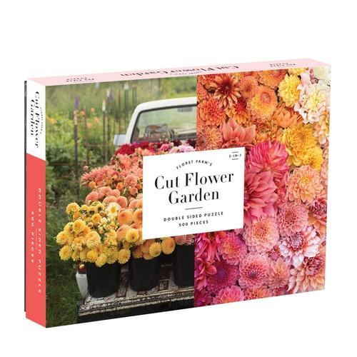 Chronicle Books Floret Farm's Cut Flower Garden 2-sided 500-Piece Jigsaw Puzzle