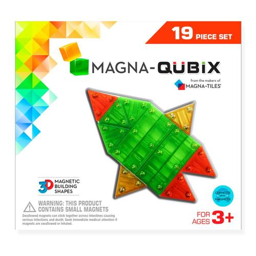 Magna-Tiles Magna-Qubix 19 Piece Set