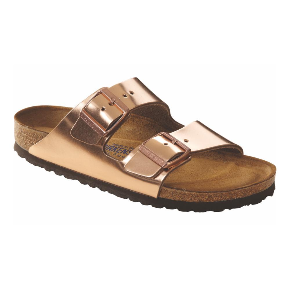 Birkenstock Women's Arizona Soft Footbed Leather Sandals