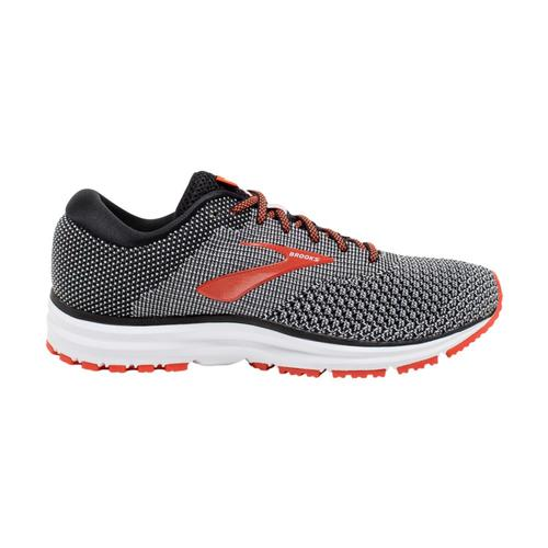 Brooks Men's Revel 2 Road Running Shoes Blk.Ltgry_091