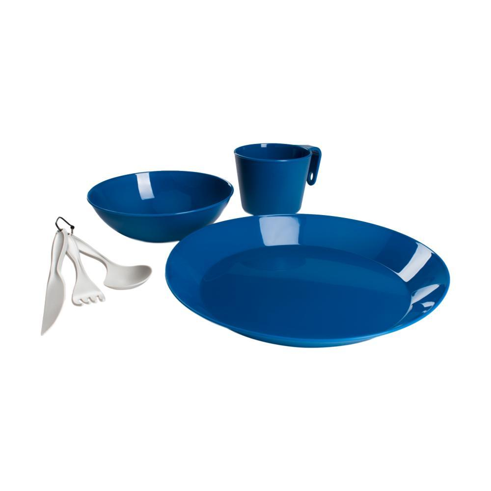 GSI Outdoors Cascadian 1 Person Table Set BLUE