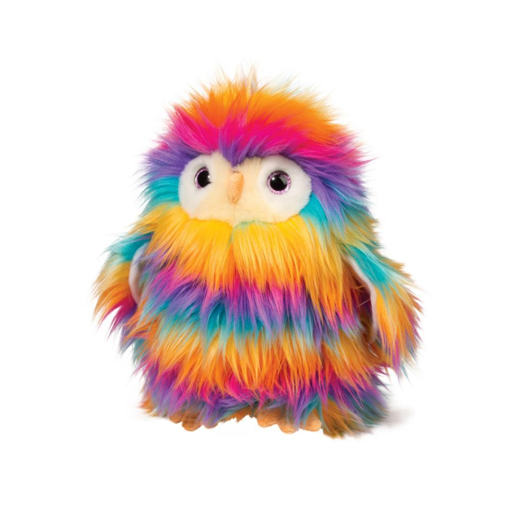 Douglas Toys Izzy The Rainbow Owl Fuzzle