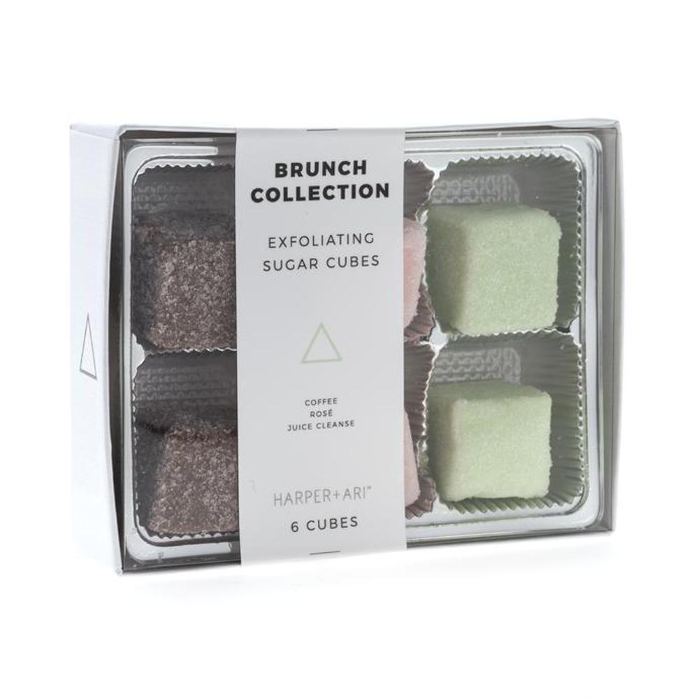Harper + Ari Exfoliating Sugar Cubes - Brunch Collection Gift Box