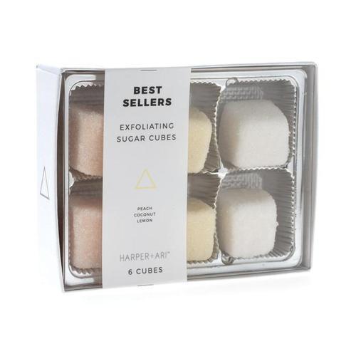 Harper + Ari Exfoliating Sugar Cubes - Best Sellers Gift Box