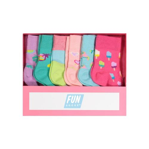 FUN Socks Infant Girls Box Set Asst