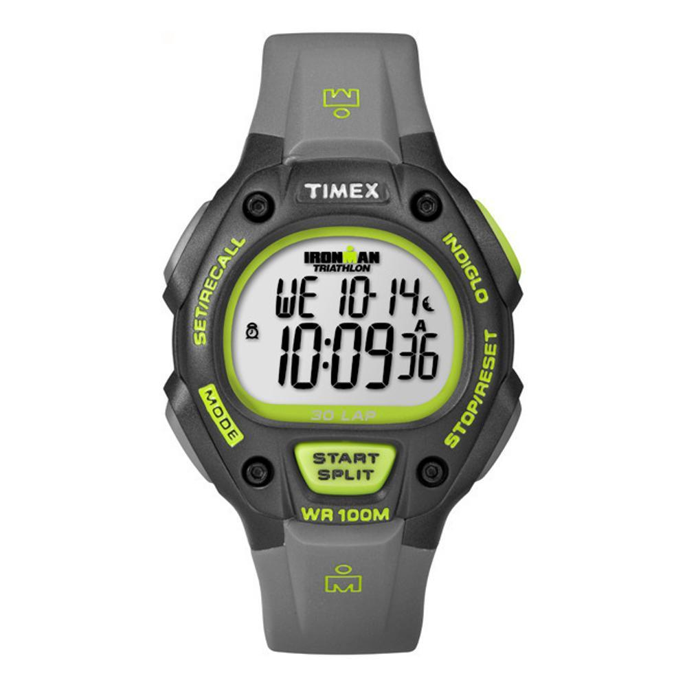 Timex IRONMAN Classic 30 Mid-Size Resin Strap Watch BLACK
