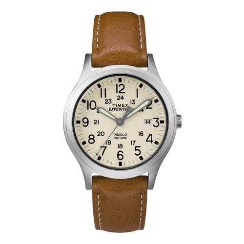 Timex Expedition Scout Watch Leather