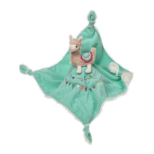 Lily Llama Character Blanket