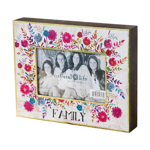 Natural Life Family Picture Frame