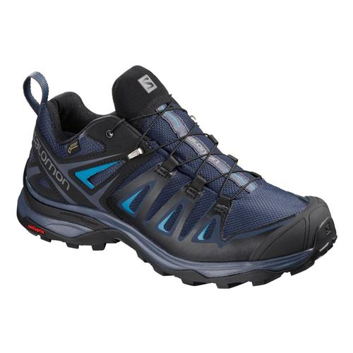 Salomon Women's X Ultra 3 GTX Hiking Shoes Mdblu.Blk.Haw