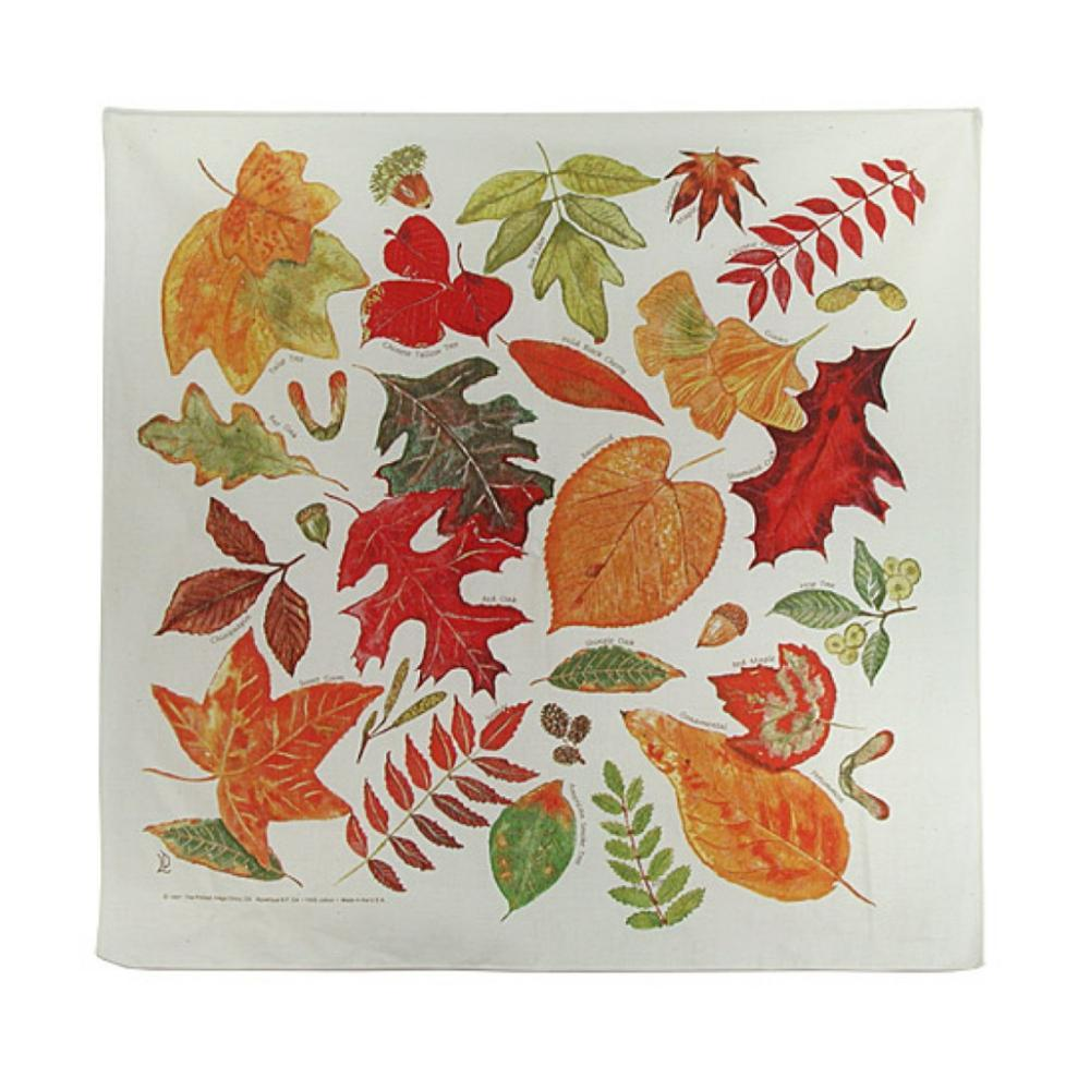 The Printed Image Fall Leaves Bandana FALL