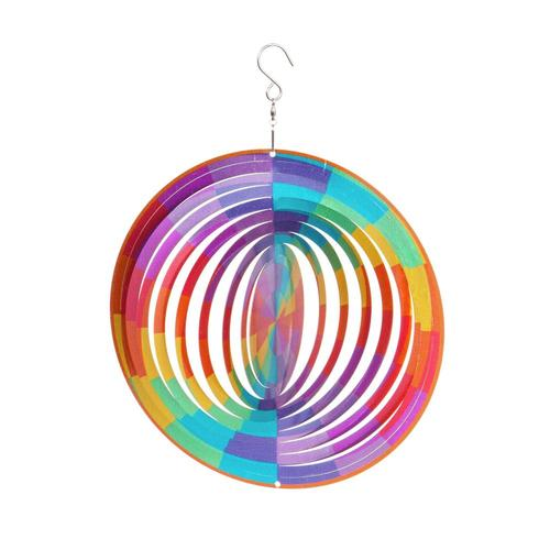 Evergreen Garden Rainbow Spectrum Spinner