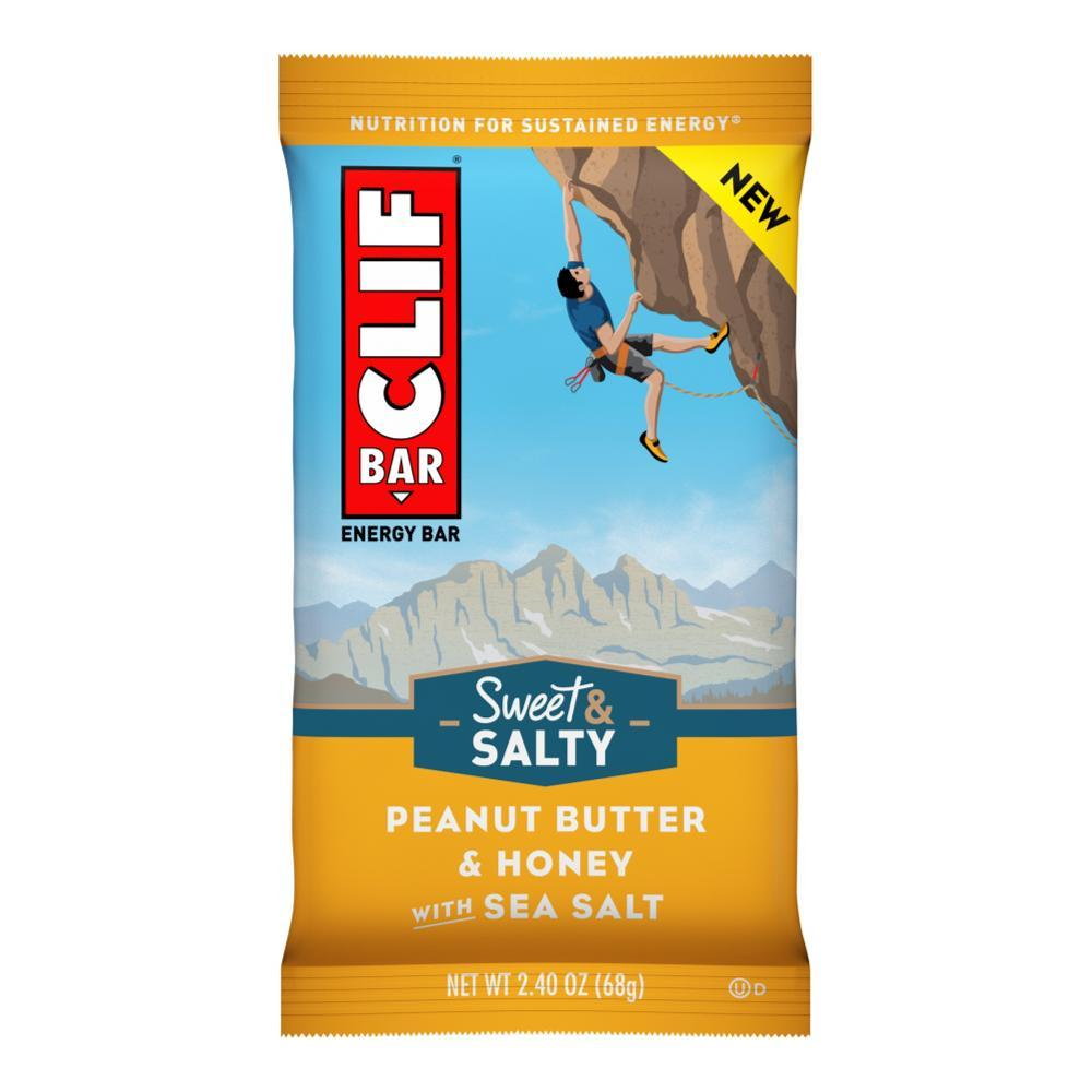 Clif Bar Peanut Butter and Honey with Sea Salt Sweet & Salty Bar PNT.BTR.HON.SSLT