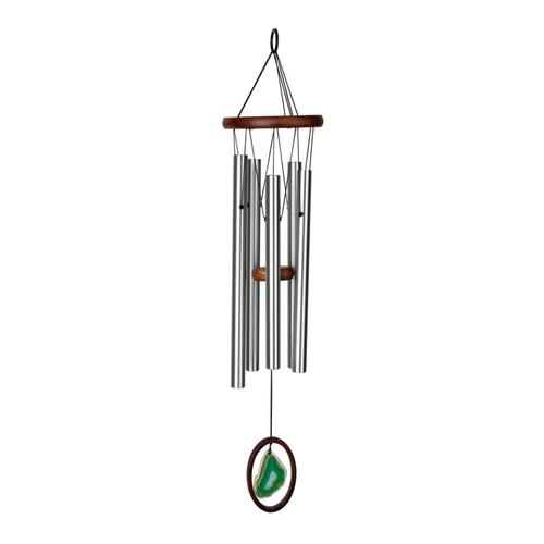Woodstock Chimes Agate Wind Chime - Large, Green Green
