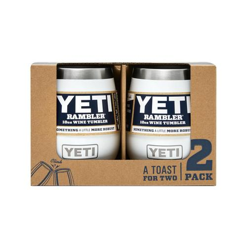 YETI Rambler 10oz Wine Tumbler 2-Pack White