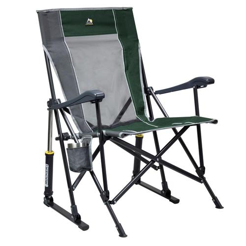 GCI Outdoor RoadTrip Rocker Hard Arm Rocking Chair Hunter_416