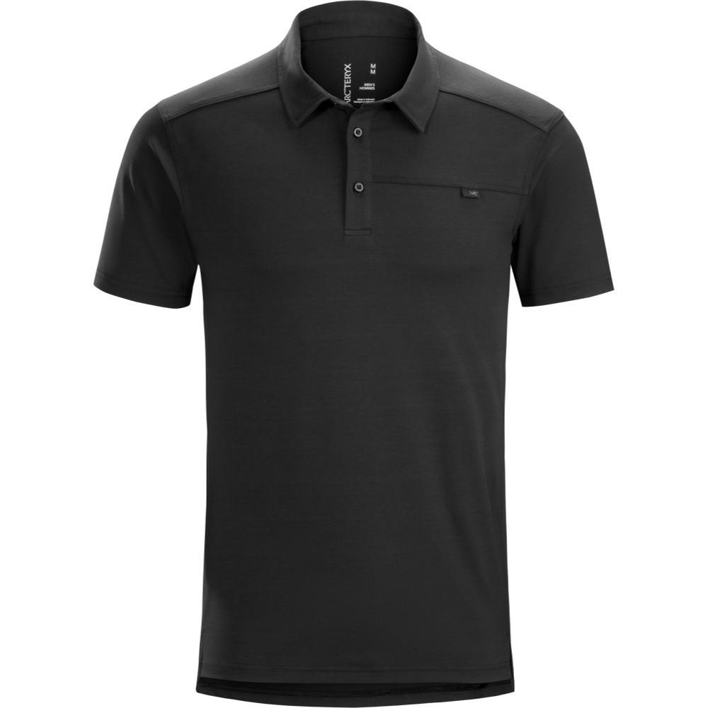 Arc'teryx Men's Captive Short Sleeve Polo BLACK