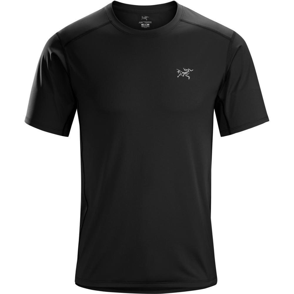 Arc'teryx Men's Ether Short Sleeve Crew T-Shirt BLACKIII