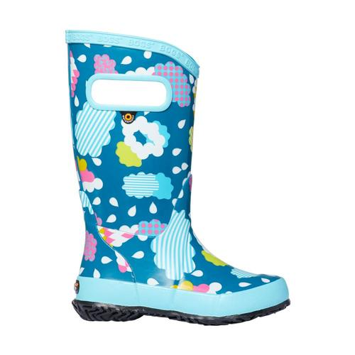 Bogs Kids Clouds Rain Boots Aquamulti