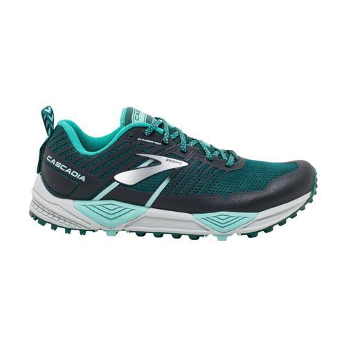 Brooks Women's Cascadia 13 Trail Running Shoes Teal.Aqua_343