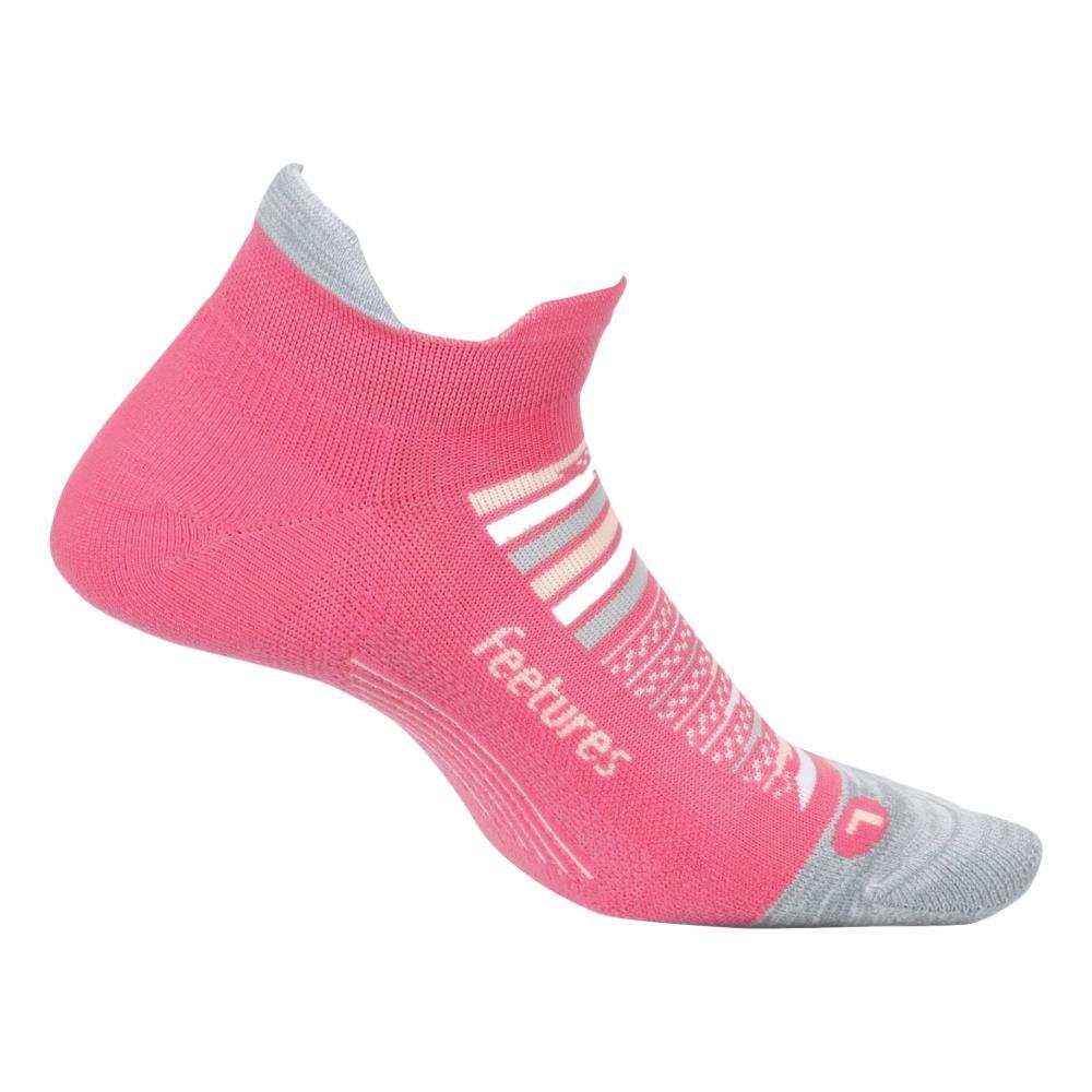 Feetures Unisex Elite Light Cushion No Show Tab Socks HIBISCUS