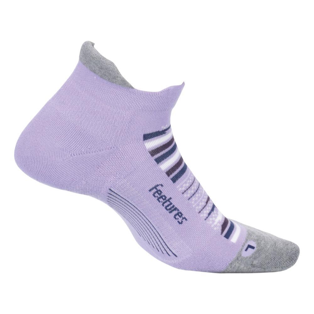 Feetures Unisex Elite Max Cushion No Show Tab Socks PURPLEHORZ