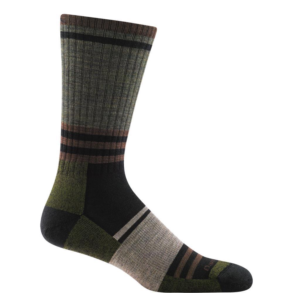Darn Tough Men's Spur Boot Socks - Light Cushion FATIGUE