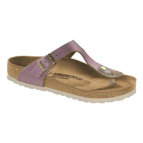 Birkenstock Women's Gizeh Leather Sandals Wpinkmet