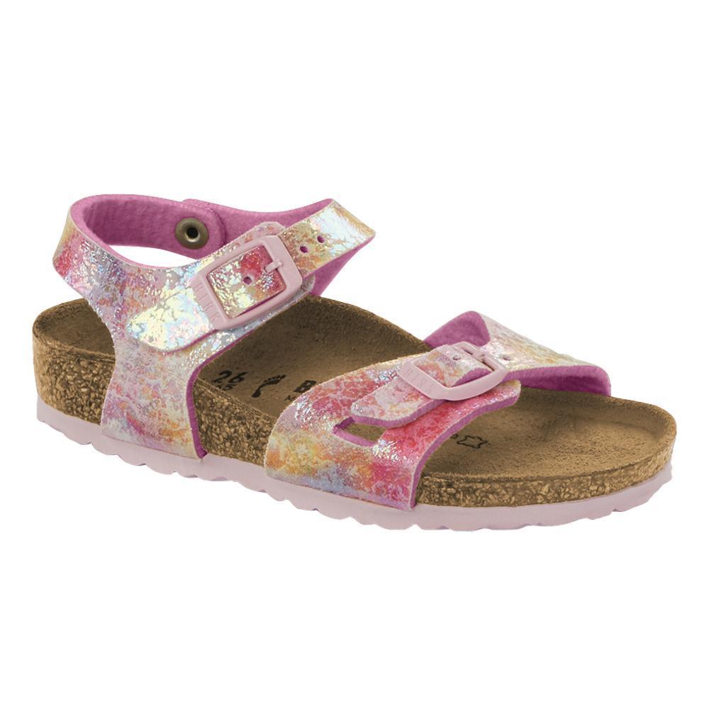Birkenstock Kids Rio Microfiber Sandals WATERCOLOR