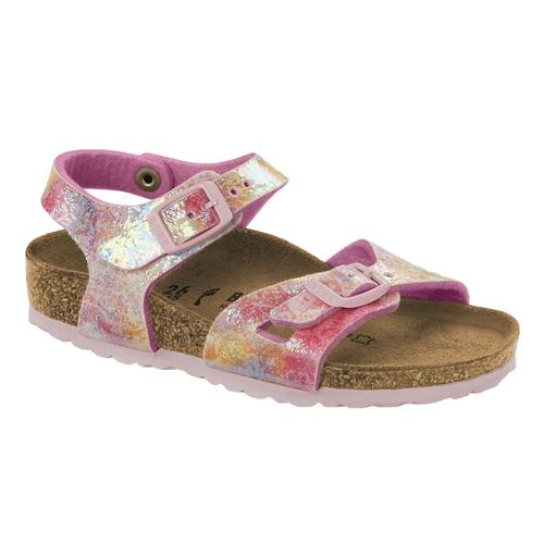 Birkenstock Kids Rio Microfiber Sandals Watercolor
